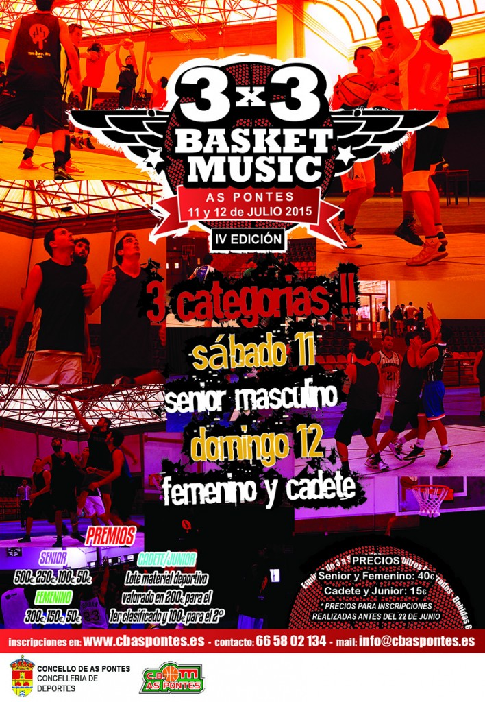 cartel Basket&Music 2015 final